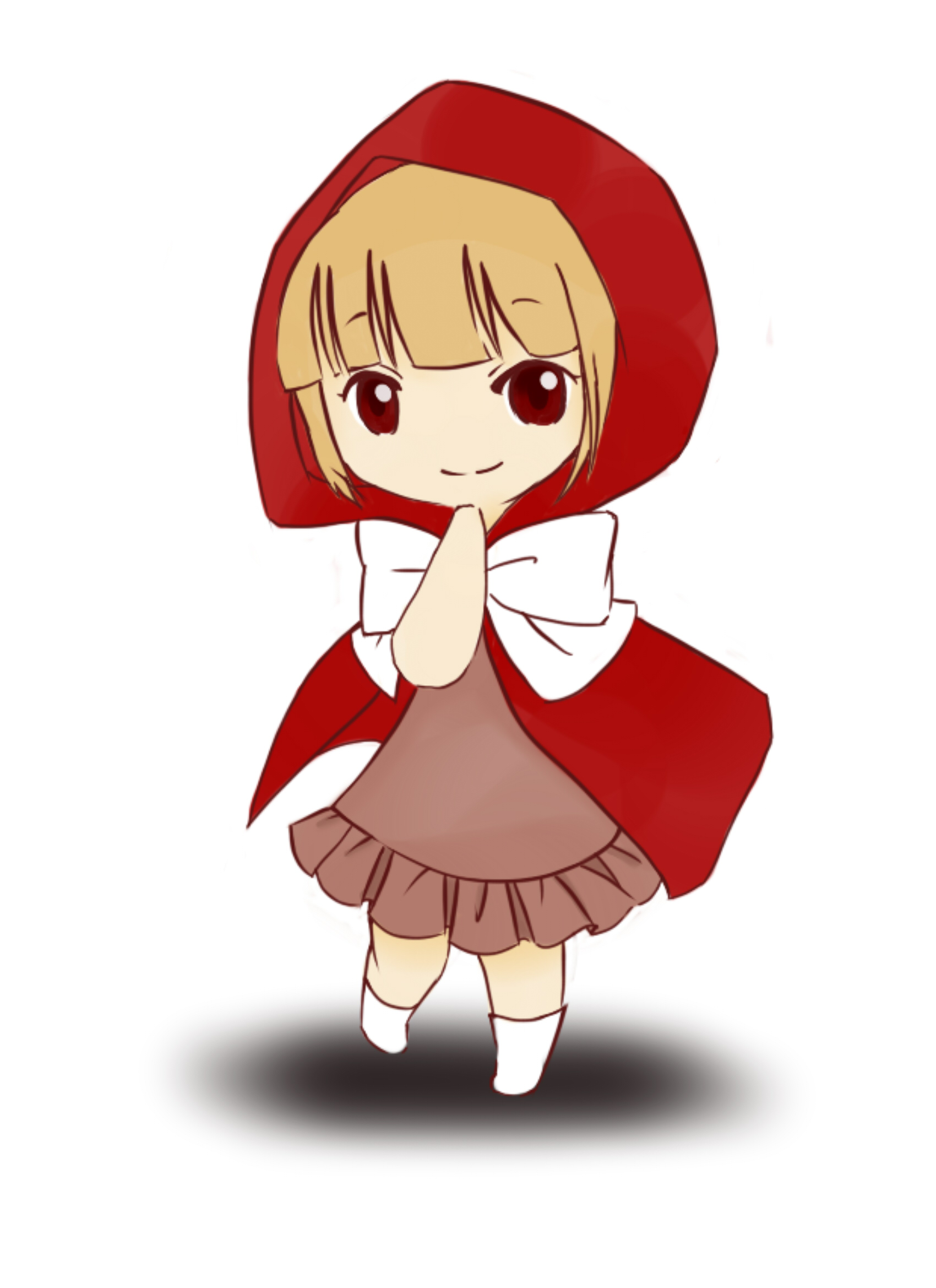 Easy Drawings Lil Red Riding Hood